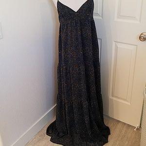 Anthropologie Patterson Kincaid Maxi Dress